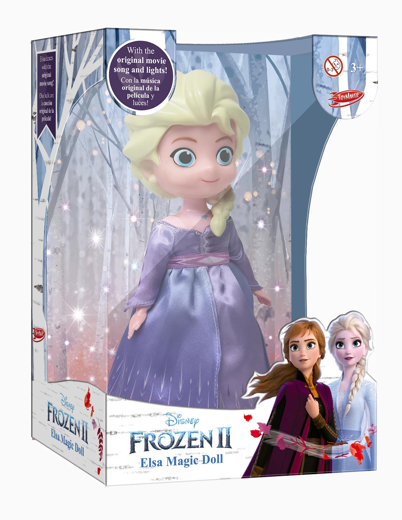 550 Frozen II Elsa-Magic-Doll